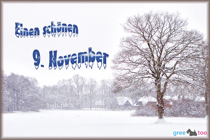 Einen Schoenen 9 November Bild - 1gb.pics