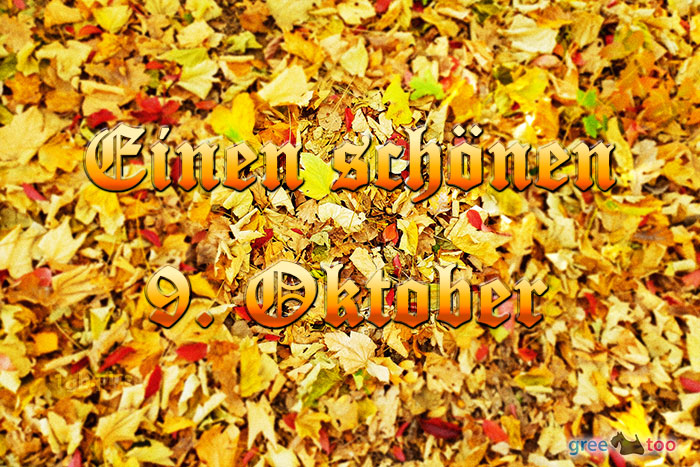 Einen Schoenen 9 Oktober Bild - 1gb.pics