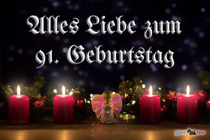 Alles Liebe 91 Geburtstag Bild - 1gb.pics