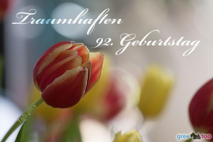 Traumhaften 92 Geburtstag Bild - 1gb.pics