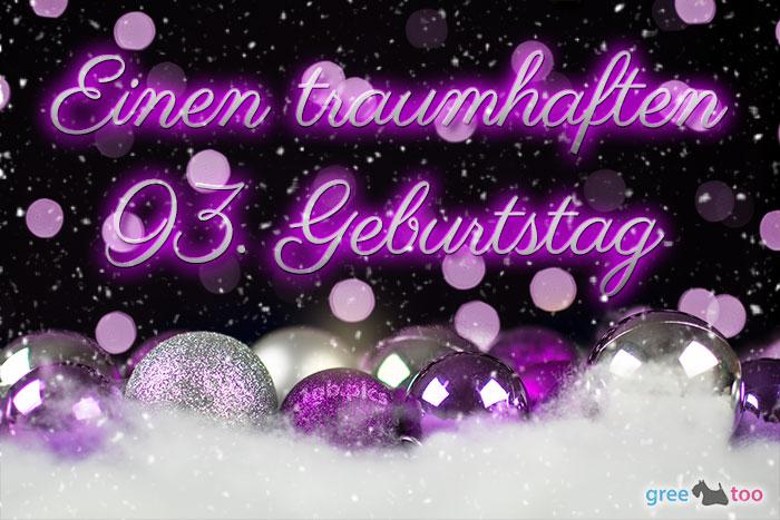 Traumhaften 93 Geburtstag Bild - 1gb.pics