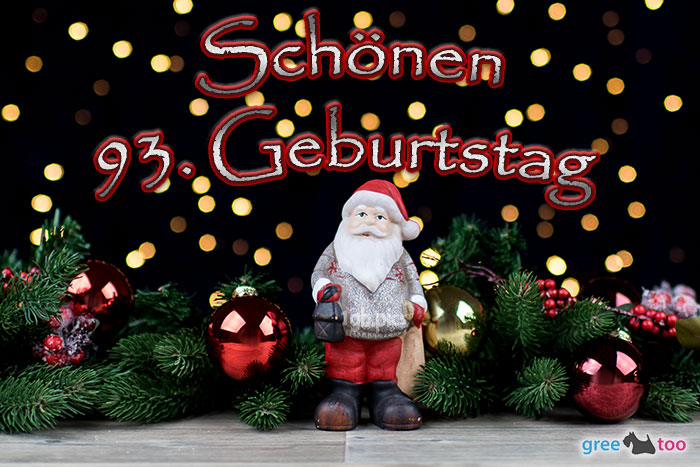 Schoenen 93 Geburtstag Bild - 1gb.pics