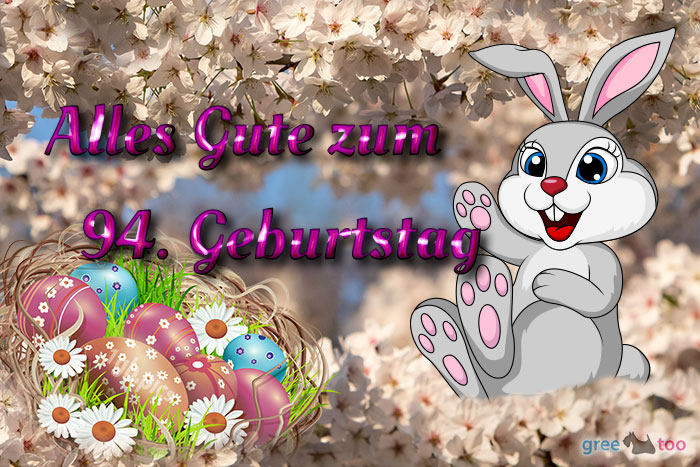 Alles Gute 94 Geburtstag Bild - 1gb.pics