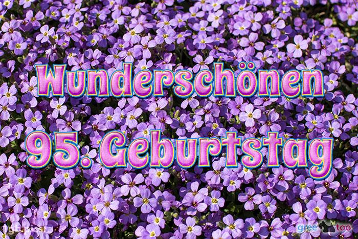 Wunderschoenen 95 Geburtstag Bild - 1gb.pics