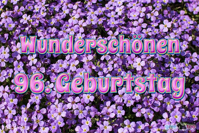 Wunderschoenen 96 Geburtstag Bild - 1gb.pics