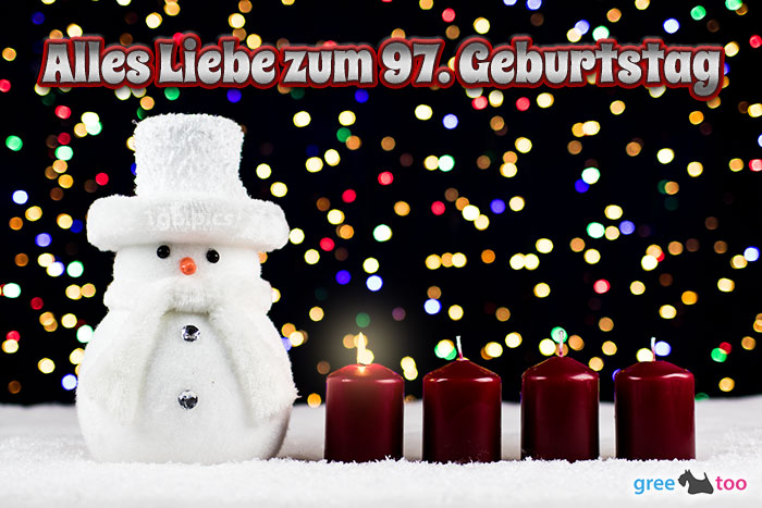 Alles Liebe Zum 97 Geburtstag Bild - 1gb.pics