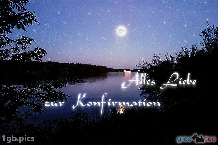 Mond Fluss Alles Liebe Zur Konfirmation Bild - 1gb.pics
