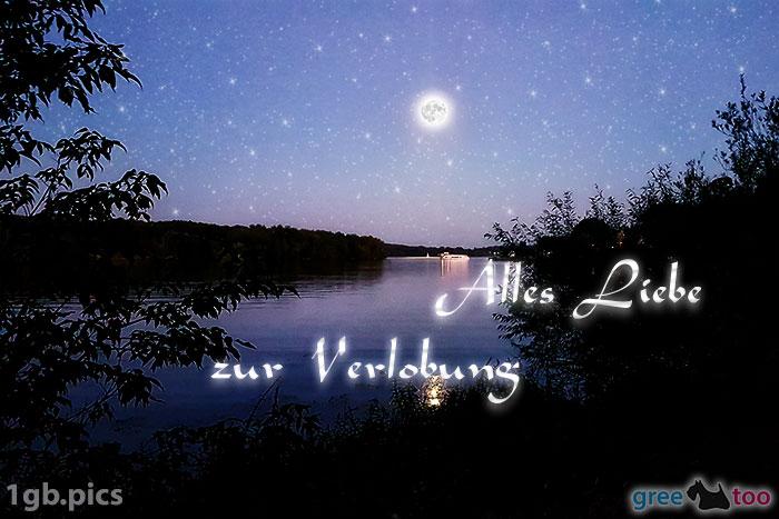 Mond Fluss Alles Liebe Zur Verlobung Bild - 1gb.pics
