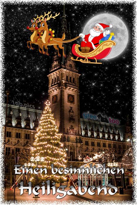 Besinnlichen Heiligabend Bild - 1gb.pics