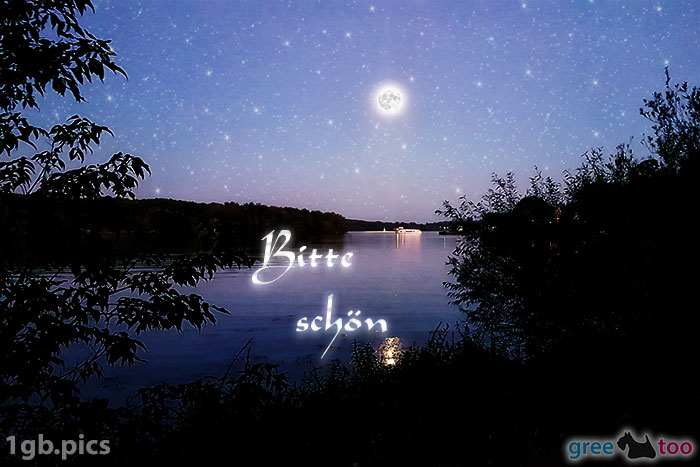 Mond Fluss Bitte Schoen Bild - 1gb.pics
