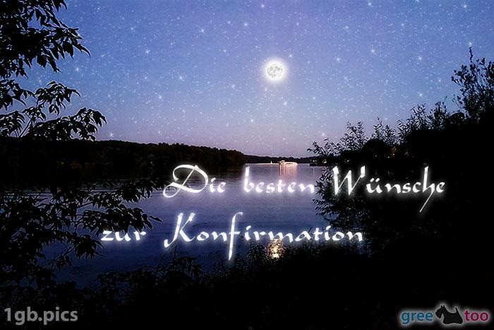 Mond Fluss Die Besten Wuensche Zur Konfirmation Bild - 1gb.pics