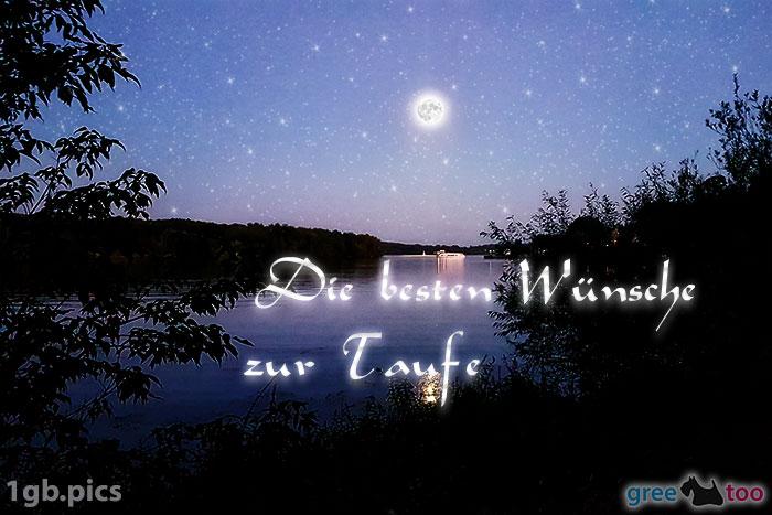 Mond Fluss Die Besten Wuensche Zur Taufe Bild - 1gb.pics
