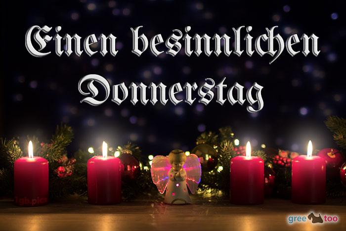 Besinnlichen Donnerstag Bild - 1gb.pics