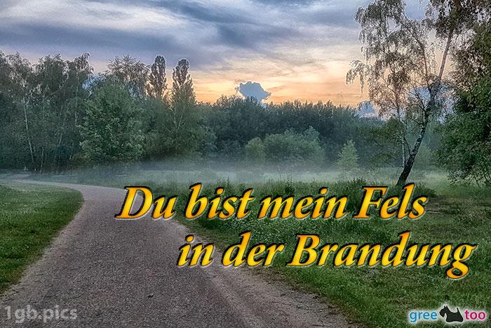 Nebel Du Bist Mein Fels In Der Brandung Bild - 1gb.pics