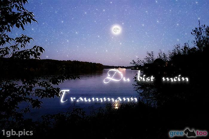 Mond Fluss Du Bist Mein Traummann Bild - 1gb.pics