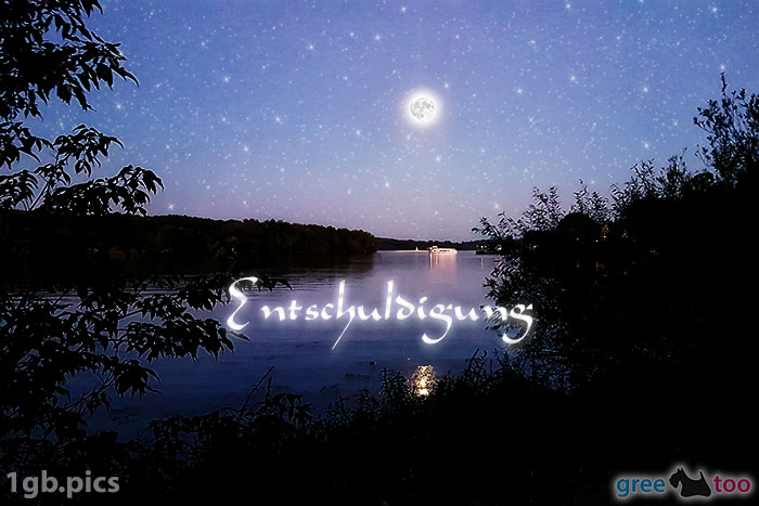 Mond Fluss Entschuldigung Bild - 1gb.pics