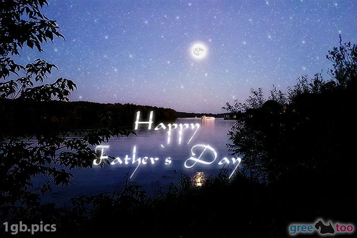 Mond Fluss Happy Fathers Day Bild - 1gb.pics