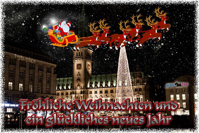 Froehliche Weihnachten Glueckliches Neues Jahr Bild - 1gb.pics