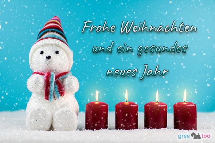 Frohe Weihnachten und ein gesundes neues Jahr von 1gbpics.com