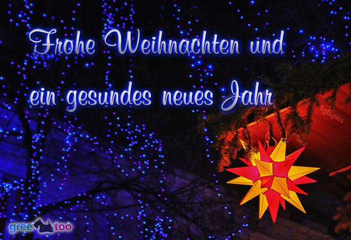 Stern Lichter Frohe Weihnachten Gesundes Neues Jahr Bild - 1gb.pics