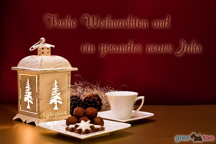 Weihnachtskaffee Frohe Weihnachten Gesundes Neues Jahr Bild - 1gb.pics