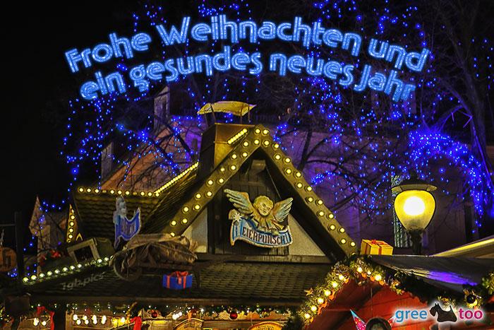 Weihnachtsmarkt Frohe Weihnachten Gesundes Neues Jahr Bild - 1gb.pics