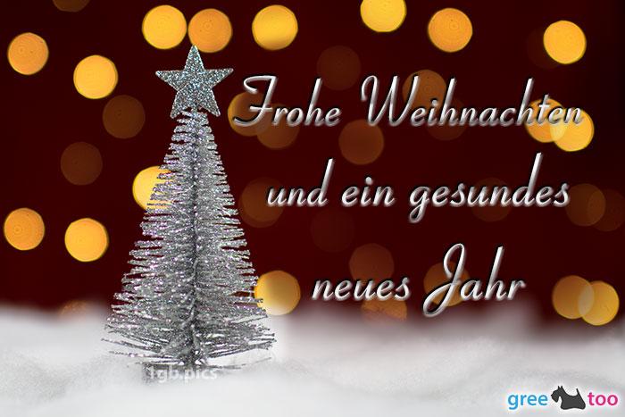 Frohe Weihnachten Gesundes Neues Jahr