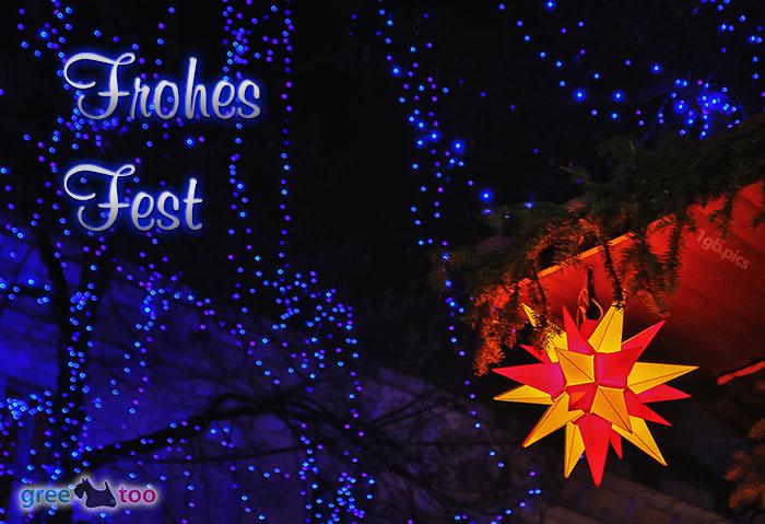 Stern Lichter Frohes Fest Bild - 1gb.pics