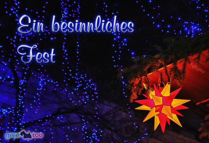 Stern Lichter Besinnliches Fest Bild - 1gb.pics