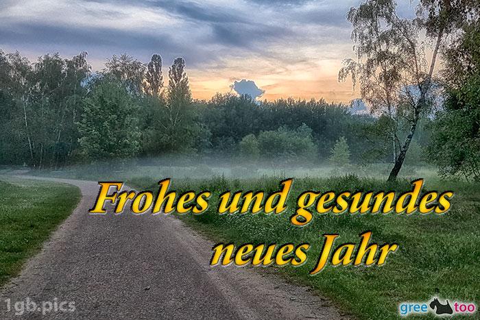 Nebel Frohes Und Gesundes Neues Jahr Bild - 1gb.pics