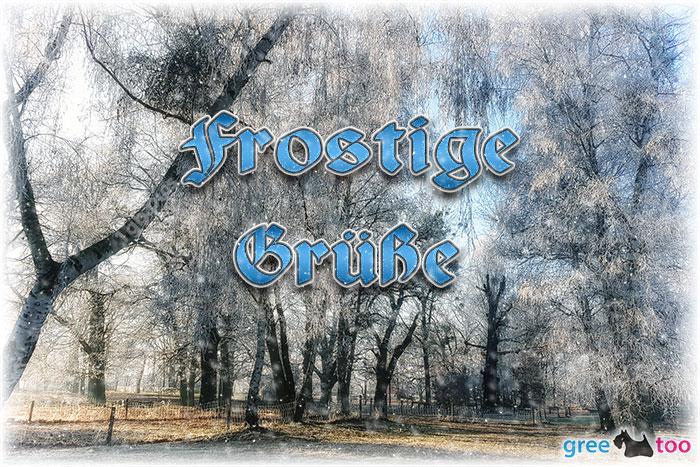 Frostige Gruesse Bild - 1gb.pics
