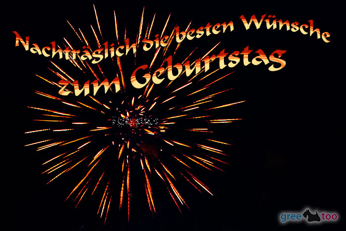 Nachtraeglich Beste Wuensche Geburtstag Bild - 1gb.pics