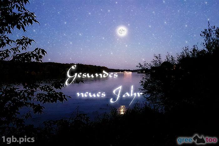 Mond Fluss Gesundes Neues Jahr Bild - 1gb.pics