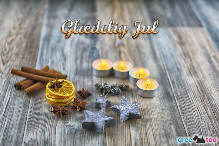 Advents Teelicht 4 Glaedelig Jul Bild - 1gb.pics