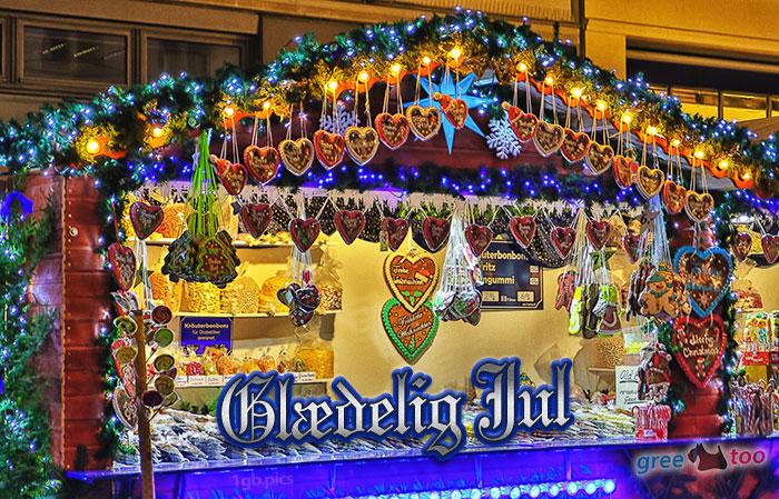 Weihnachtsmarktbude Glaedelig Jul Bild - 1gb.pics