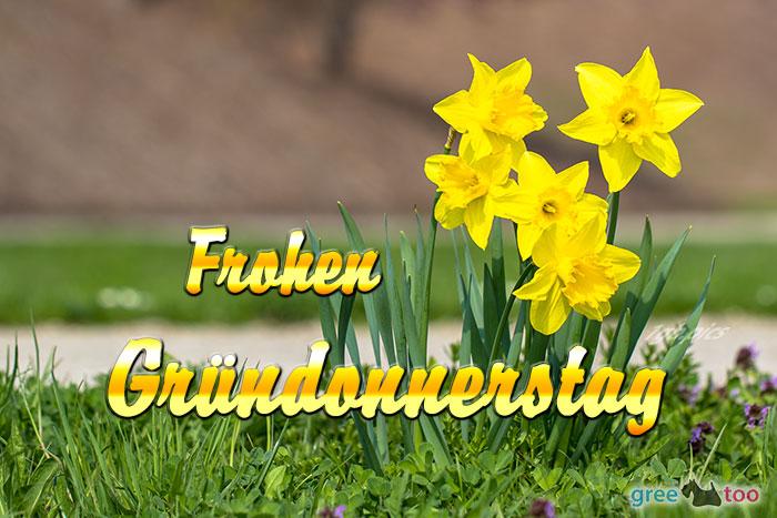 Frohen Gruendonnerstag Bild - 1gb.pics