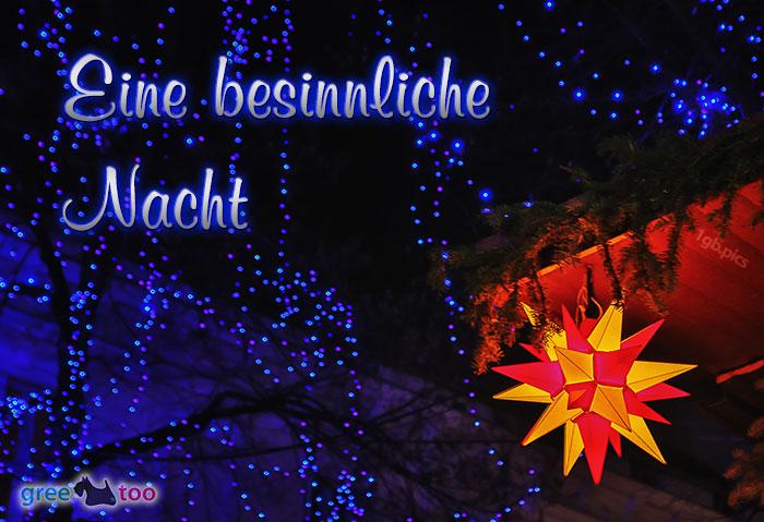 Stern Lichter Besinnliche Nacht Bild - 1gb.pics