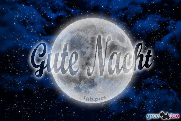 Wolken Mond Gute Nacht Bild - 1gb.pics