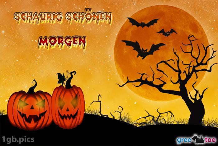 Guten Morgen Halloween