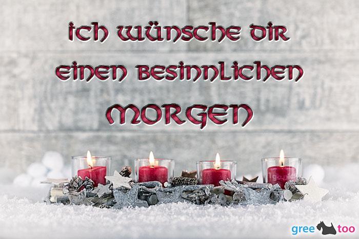 Adventskerzen 4 Besinnlichen Morgen Bild - 1gb.pics