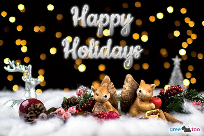 Happy Holidays Bild - 1gb.pics