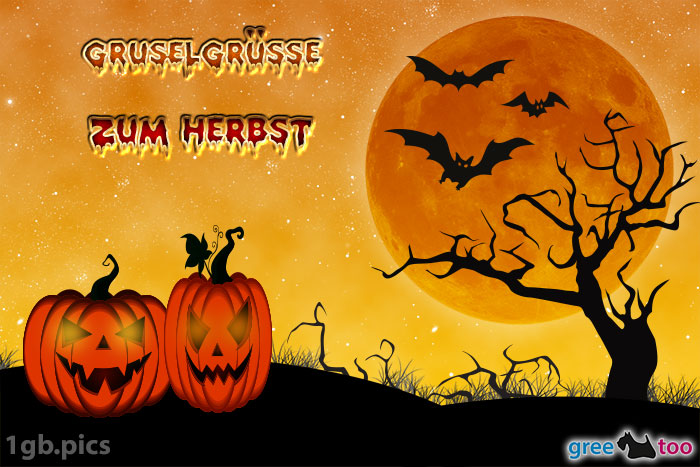 Halloween Gruselgruesse Zum Herbst Bild - 1gb.pics