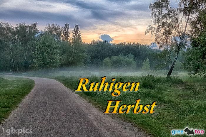 Nebel Ruhigen Herbst Bild - 1gb.pics