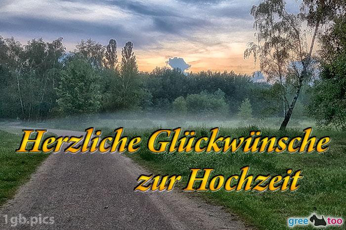 Nebel Herzliche Glueckwuensche Zur Hochzeit Bild - 1gb.pics