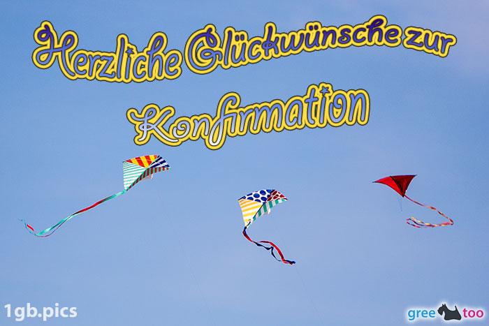 Drachen Herzliche Glueckwuensche Zur Konfirmation Bild - 1gb.pics