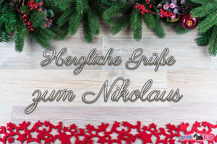 Herzliche Grüße zum Nikolaus von 1gbpics.com