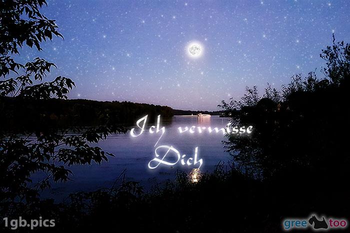 Mond Fluss Ich Vermisse Dich Bild - 1gb.pics