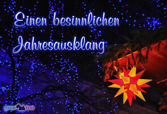 Stern Lichter Besinnlichen Jahresausklang Bild - 1gb.pics