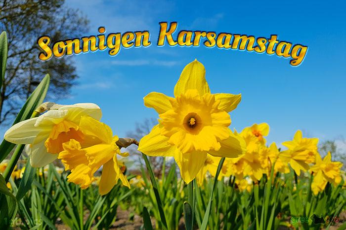 Sonnigen Karsamstag Bild - 1gb.pics