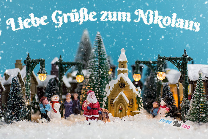 Liebe Gruesse Nikolaus Bild - 1gb.pics